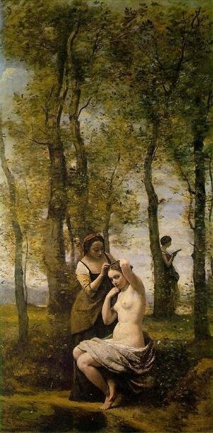 Le Toilette (or Landscape with Figures)