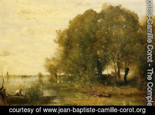 Jean-Baptiste-Camille Corot - Wooded Peninsula