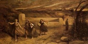 Jean-Baptiste-Camille Corot - The Destruction of Sodom