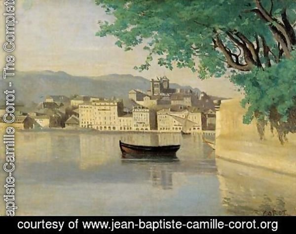 Jean-Baptiste-Camille Corot - Geneva - View of Part of the City