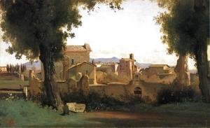 Jean-Baptiste-Camille Corot - View in the Farnese Gardens