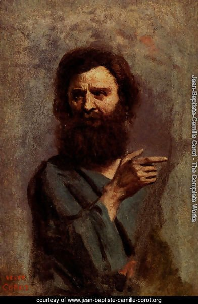 Head Of Bearded Man (A Study For The Baptism Of Christ)