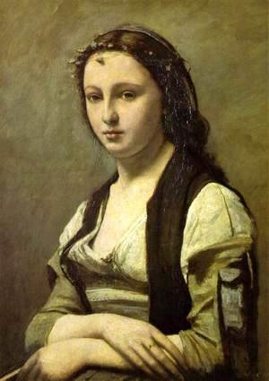 Woman with a Pearl