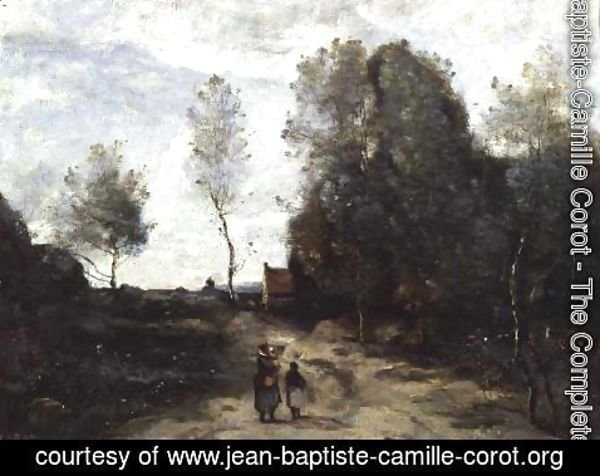 Jean-Baptiste-Camille Corot - The Road