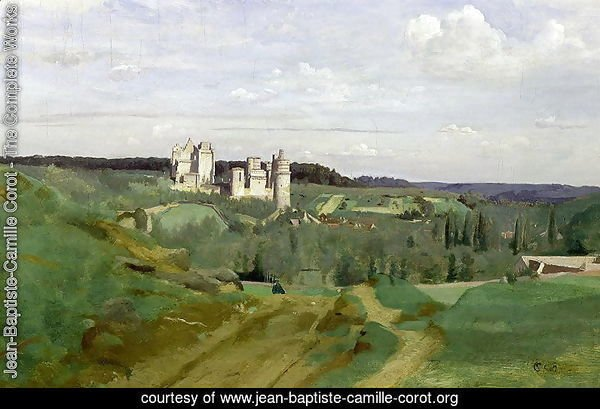 View of the Chateau de Pierrefonds, c.1840-45