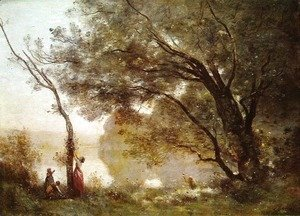 Jean-Baptiste-Camille Corot - Recollections of Mortefontaine, 1864