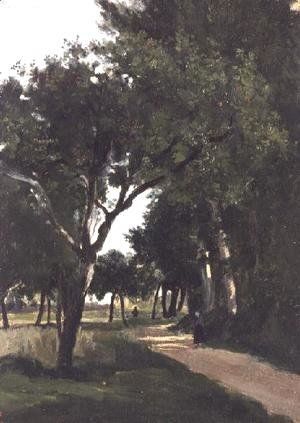 Avenue in the Woods, near Chaville, c.1824
