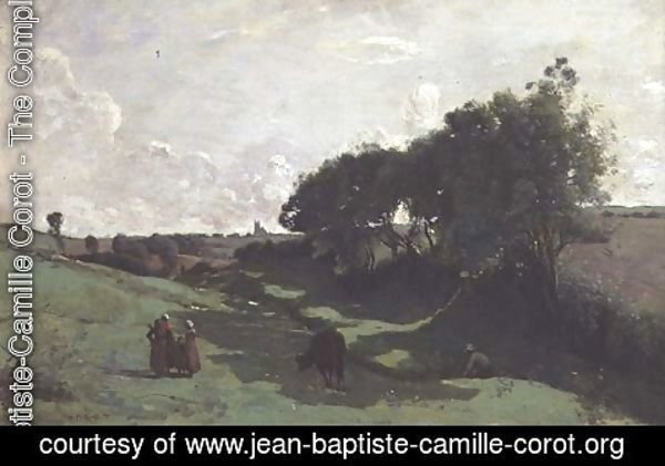 Jean-Baptiste-Camille Corot - The Little Valley