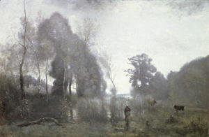 The pond at Ville d'Avray, 1868