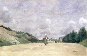 A Road in Normandy, c.1860-65