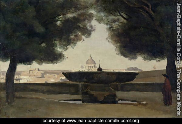 The Fountain of the French Academy in Rome, 1826-27