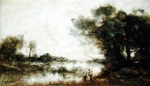 Jean-Baptiste-Camille Corot - The Pond