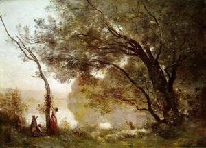 Jean-Baptiste-Camille Corot - Souvenir of Montefontaine, 1864