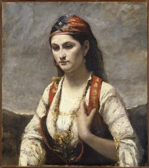 The Young Woman of Albano, 1872