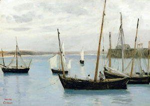 Granville, Fishing Boats, c.1860