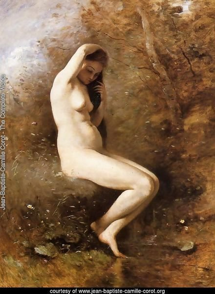 Venus Bathing, c.1873-74