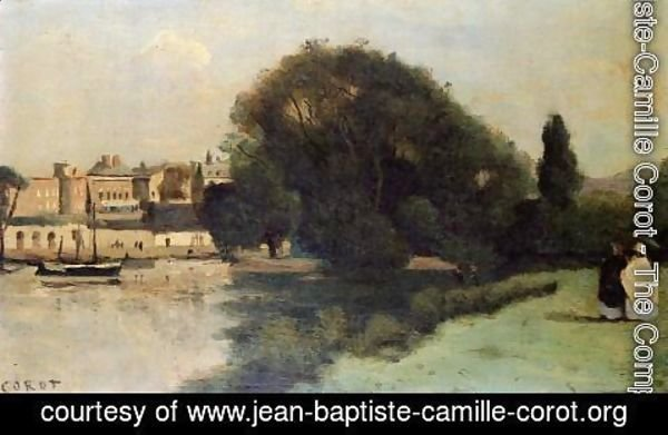 Jean-Baptiste-Camille Corot - Richmond, near London, 1862