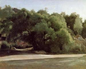 Jean-Baptiste-Camille Corot - Fontainebleau - the Chailly Road