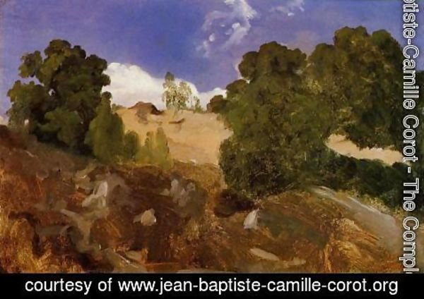 Jean-Baptiste-Camille Corot - At Fontainebleau