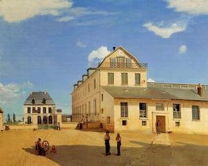 Jean-Baptiste-Camille Corot - Soissons - Hoses and Factory of Mr. Henry