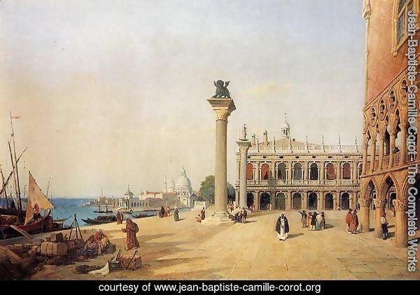 Venice - View of the Esclavons Quay