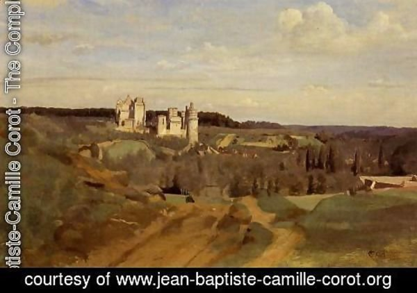 Jean-Baptiste-Camille Corot - View of Pierrefonds