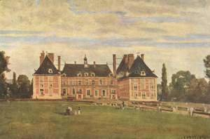 Jean-Baptiste-Camille Corot - Chateau de Rosny