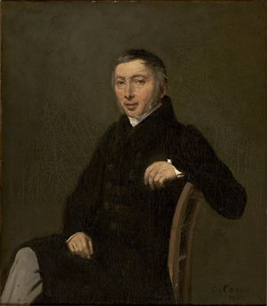 Jean-Baptiste-Camille Corot - Portrait of Laurent-Denis Sennegon