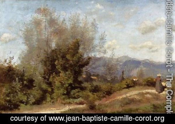 Jean-Baptiste-Camille Corot - In the Vicinity of Geneva