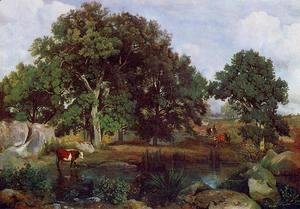 Jean-Baptiste-Camille Corot - Forest of Fontainebleau