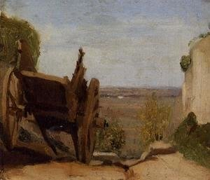 Jean-Baptiste-Camille Corot - The Cart
