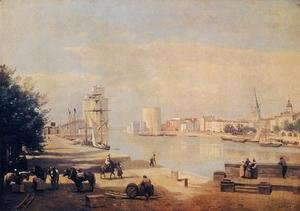 Jean-Baptiste-Camille Corot - The Port of La Rochelle