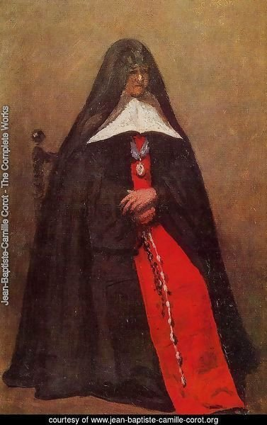 The Mother Superior of the Convent of the Annonciades