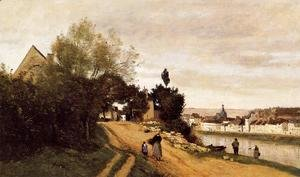Jean-Baptiste-Camille Corot - Chateau Thierry