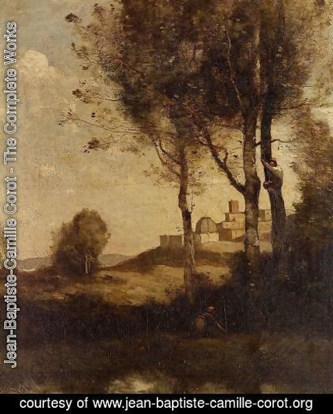 Jean-Baptiste-Camille Corot - Tuscan Beaters
