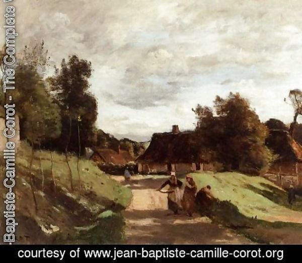 Jean-Baptiste-Camille Corot - Near the Mill, Chierry, Aisne