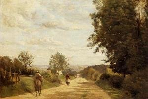 Jean-Baptiste-Camille Corot - The Sevres Road