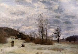 Jean-Baptiste-Camille Corot - Plains near Beauvais