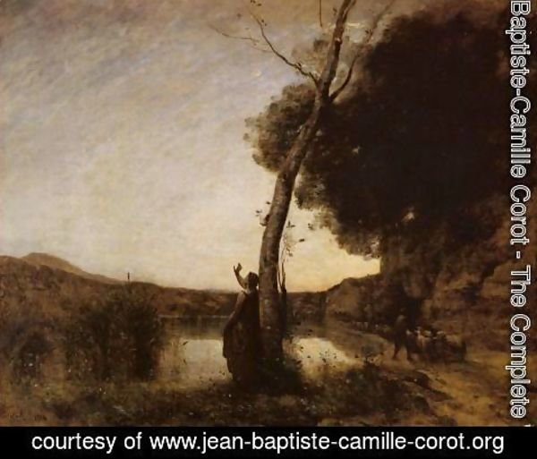 Jean-Baptiste-Camille Corot - The Evening Star