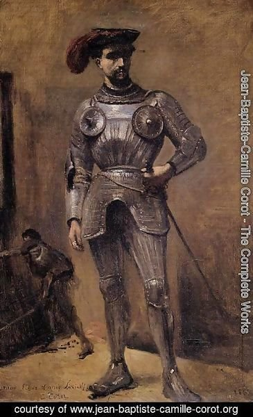 Jean-Baptiste-Camille Corot - The Knight
