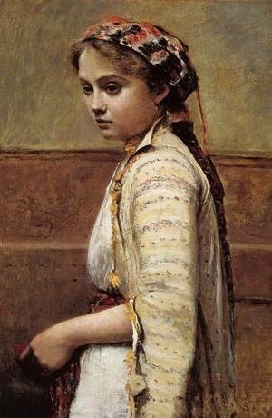 Jean-Baptiste-Camille Corot - The Greek Girl