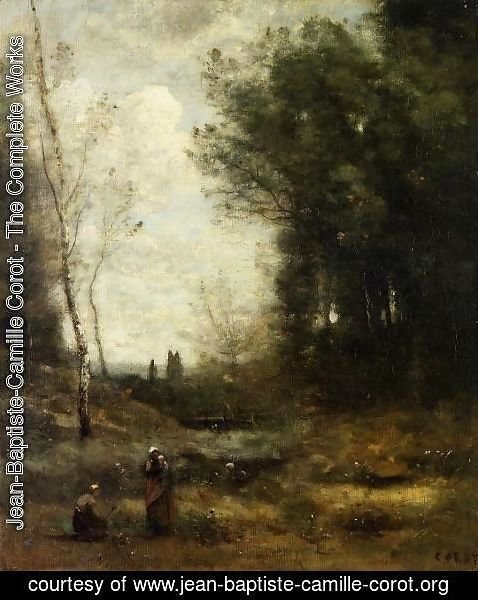 Jean-Baptiste-Camille Corot - The Valley