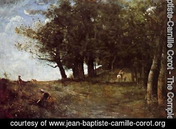 Jean-Baptiste-Camille Corot - The Forestry Workers