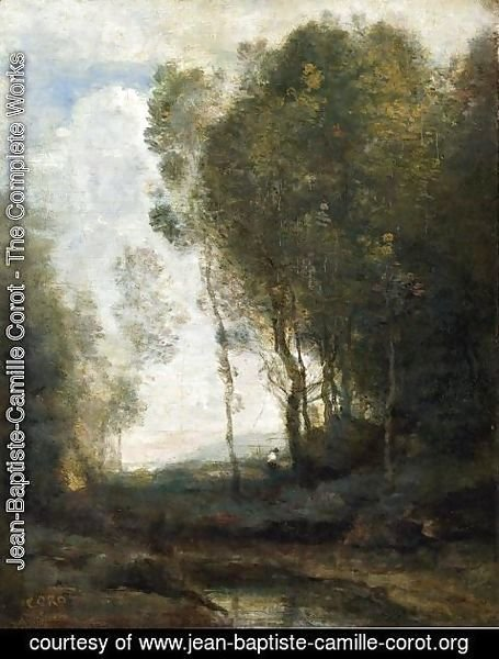 Jean-Baptiste-Camille Corot - The Edge of the Forest
