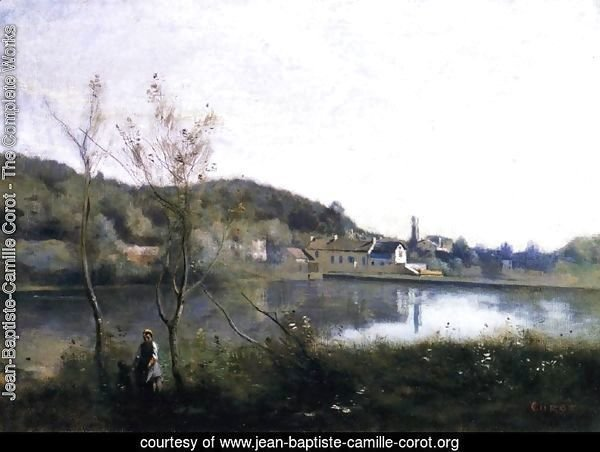Ville d'Avray - The Large Pond and the Villas