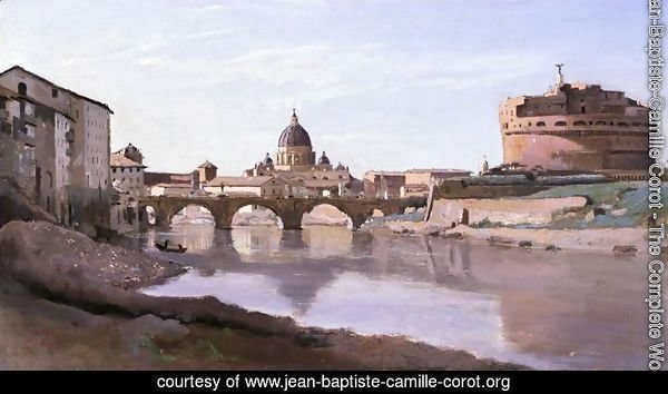 View of St. Peter's and the Castel Sant'Angelo