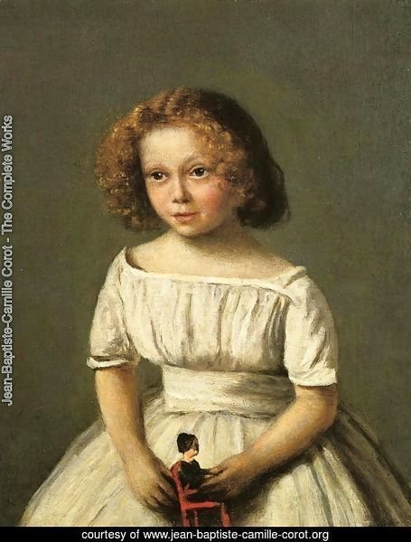 Portrait of Madame Langeron, Four Years Old
