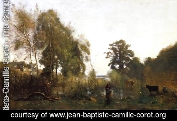 Jean-Baptiste-Camille Corot - The Ponds of Ville d'Avray