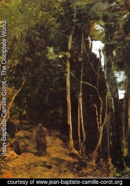 Jean-Baptiste-Camille Corot - Forest in Fontainbleau