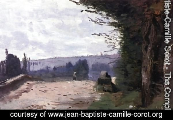 Jean-Baptiste-Camille Corot - Bridge in the Coubron Valley
